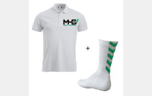 Pack Adulte A : Polo + chaussettes